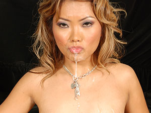 Asian Girl Gets Facial In Asian Porn